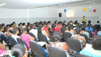 Educação realizou o I Encontro de Merendeiras do município