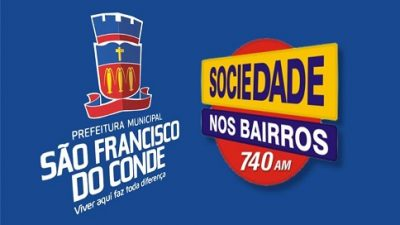 São Francisco do Conde receberá o programa Sociedade nos Bairros no dia 31