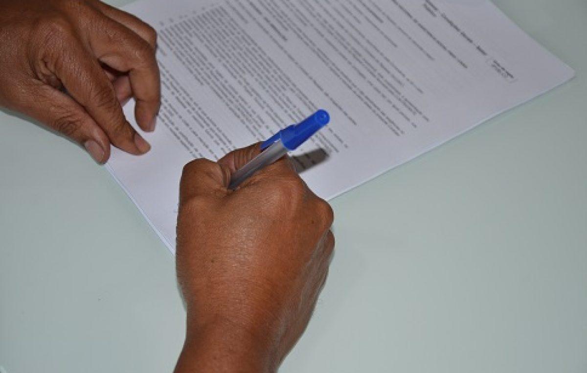 Gestão municipal anuncia assinatura de mais uma ordem de serviço!