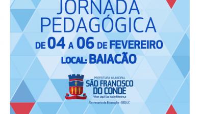 Jornada Pedagógica 2015 será realizada dos dias 04 a 06 de fevereiro