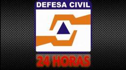 Defesa Civil atua 24 horas no município para garantir a segurança