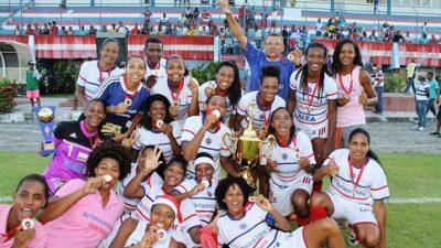 O time feminino de São Francisco do Conde estreia com vitória na Copa do Brasil