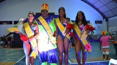 Desfile escolheu Rei Momo, Rainha e Princesas do Carnaval das Tradições 2015