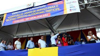 Foi dada a largada para a construção da 1ª fase das obras do Autódromo Internacional da Bahia