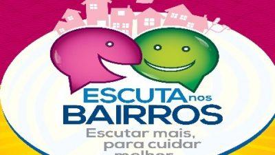 Escuta nos Bairros será realizada nesta quinta no bairro do São Bento