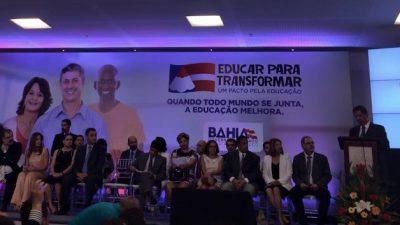 São Francisco do Conde será beneficiado com Pacto pela Educação