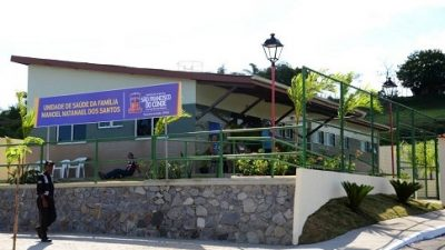 Prefeitura entregou nova e moderna unidade de saúde no bairro de Fazenda Macaco