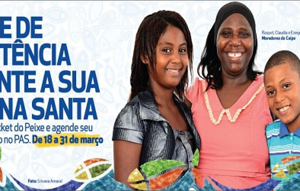 Troca de tickets da Semana Santa por cesta e peixe inicia nesta terça-feira (31)