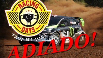 Evento no Autódromo Internacional da Bahia teve de ser adiado, devido à previsão de fortes chuvas para o fim de semana