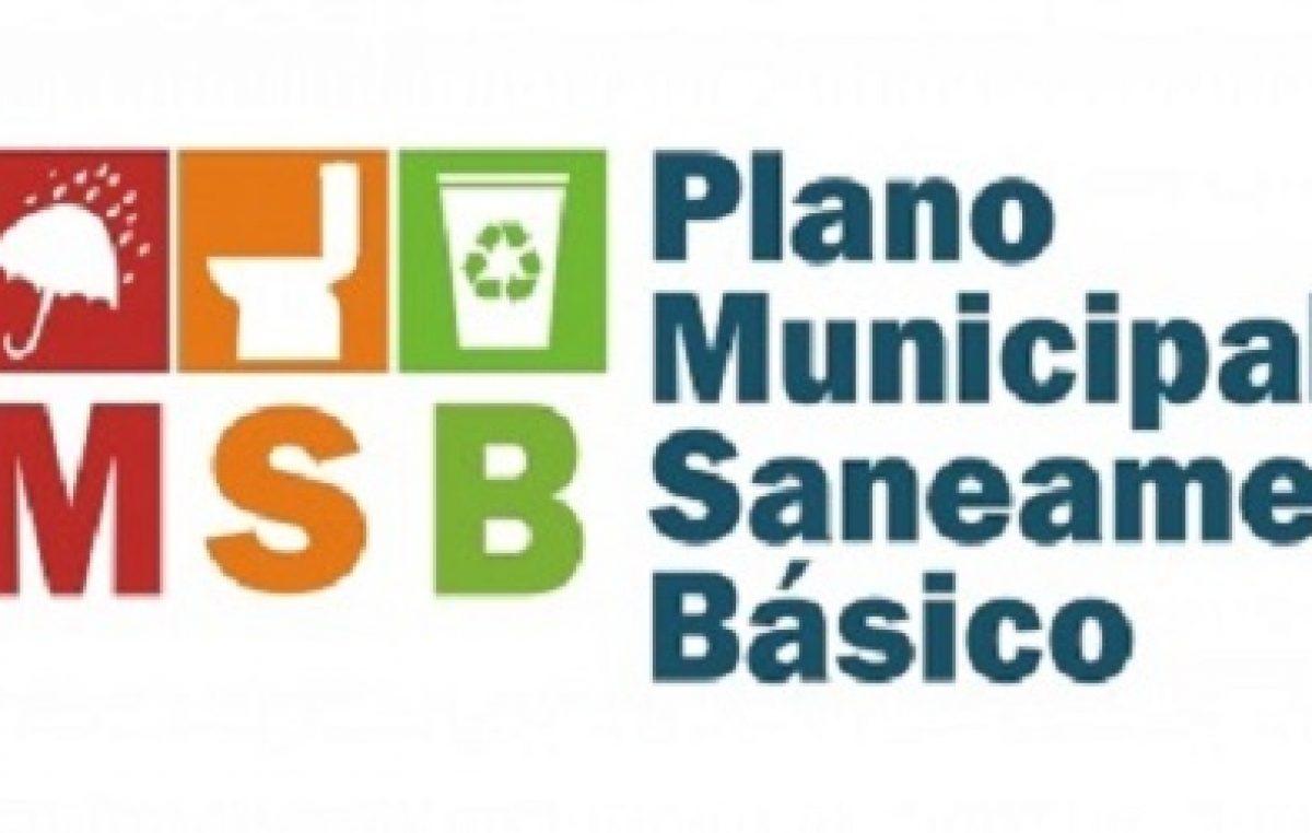 Relatório Final do Plano Municipal deSaneamentoBásicojá se encontra à disposição