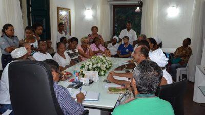 Prefeitura promoveu reunião com Povos de Matrizes Africanas na última segunda-feira (27)
