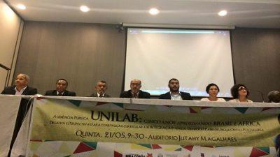 """Assembleia Legislativa da Bahia promove audiência pública: """"Unilab: cinco anos aproximando Brasil e África"""""""