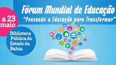 São Francisco do Conde participa de Fórum Mundial de Educação, Literatura e Inclusão Social