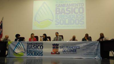 SEMA apresentou para comunidade franciscana o Plano de Saneamento Básico e de Resíduos Sólidos