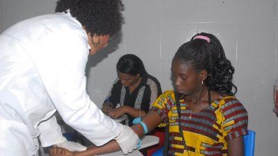 Saúde promoveu vacinação e exames para 17 estudantes estrangeiros da Unilab