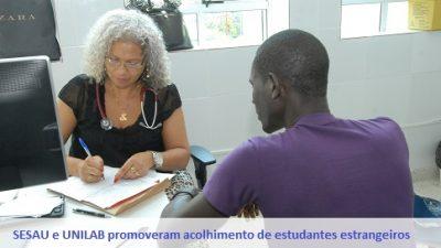 Saúde promoveu o acolhimento de 17 estudantes da Unilab vindos de Guiné-Bissau