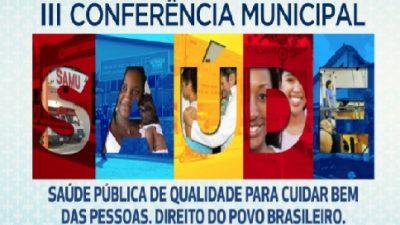 III Conferência Municipal da Saúde acontecerá no município em julho
