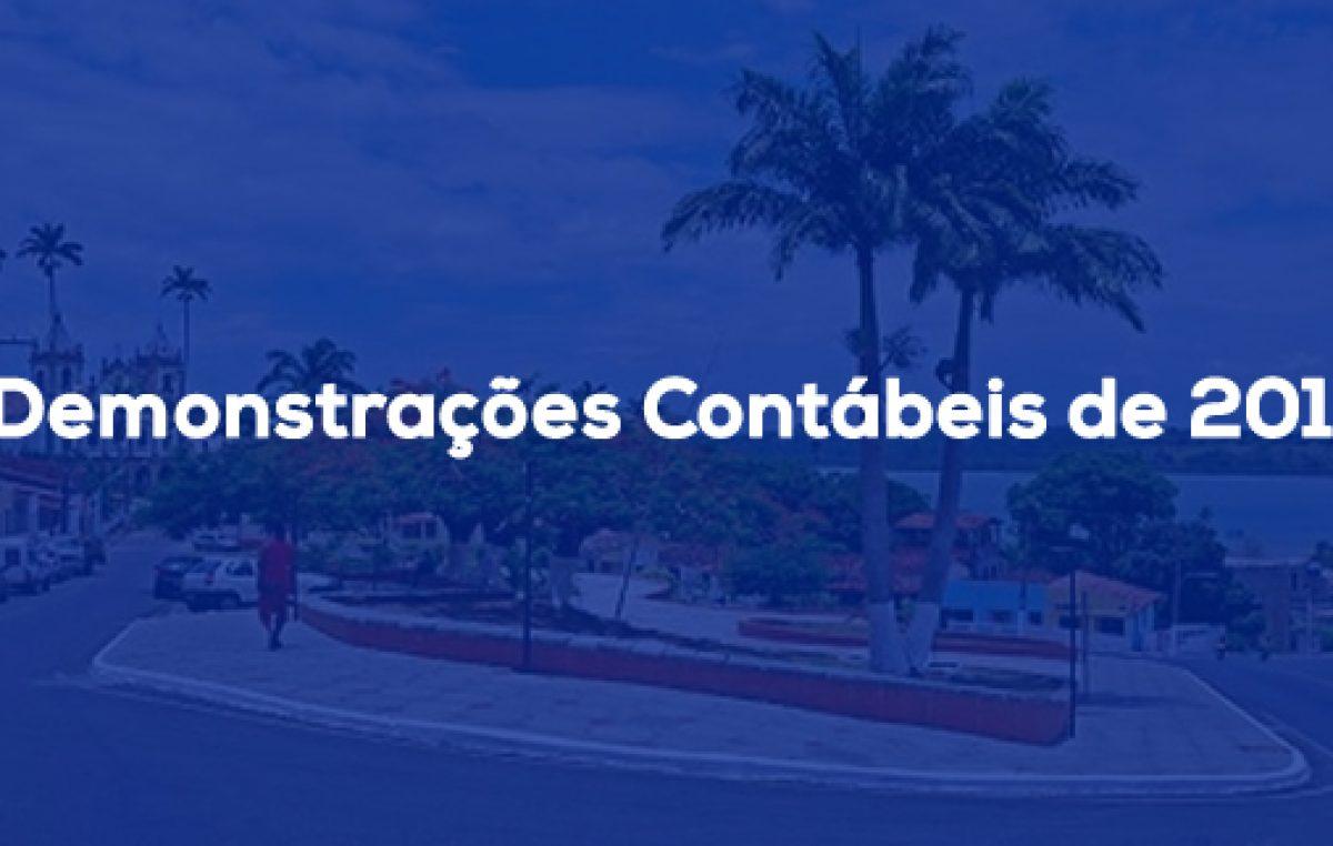 Demonstrações Contábeis de 2014 estão disponíveis para o acesso do cidadão