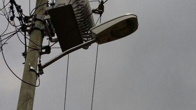 93 luminárias estão sendo substituídas na Ilha das Fontes