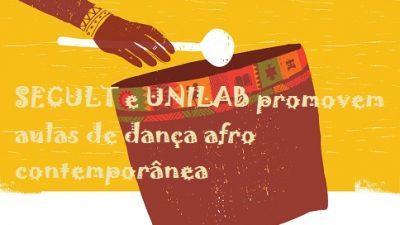 SECULT e UNILAB promovem aulas de dança afro contemporânea todas as quintas-feiras