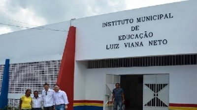 Nesta segunda-feira (28), a Prefeitura irá entregar o Instituto Municipal Luiz Viana Neto totalmente requalificado