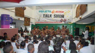 """Projeto """"No Recreio"""" marcou presença no CECBA na última sexta-feira (23)"""