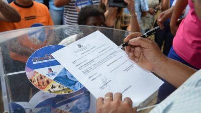 Prefeitura de São Francisco do Conde deu Ordem de Serviço no Ilhote