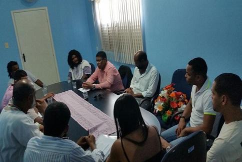 Roda de Conversa com o Secretário de Igualdade Racial e Juventude da Presidência da República em São Félix (Ba)