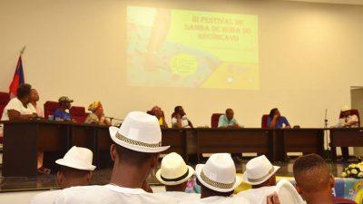 SECULT promoveu a 2ª edição do Projeto Fomento à Cultura como parte do III Festival de Samba de Roda do Recôncavo