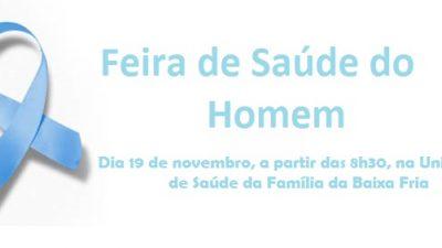 São Francisco do Conde terá Feira de Saúde do Homem entre atividades do Novembro Azul