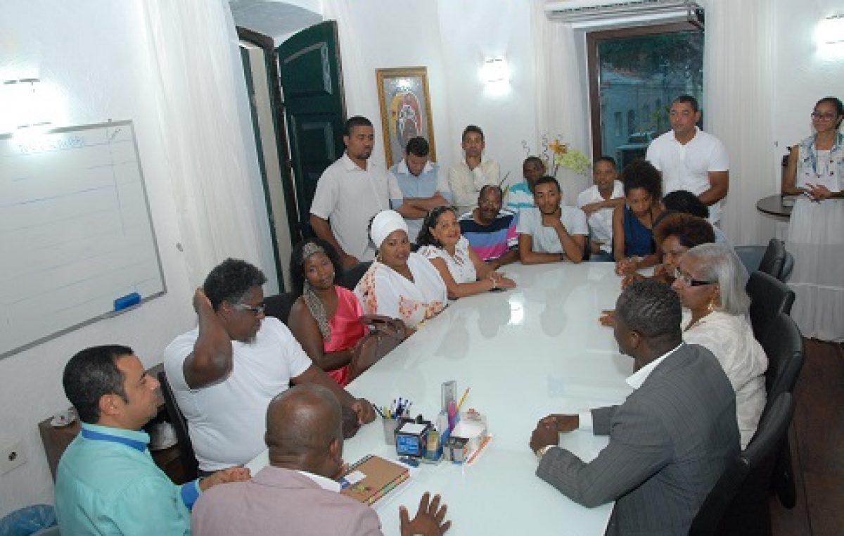 Prefeitura promoveu reunião preparatória para posse dos representantes do Conselho Municipal de Promoção da Igualdade Racial