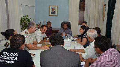 Prefeitura de São Francisco do Conde convocou uma reunião para cobrar das autoridades policiais ações efetivas na área de Segurança Pública no município