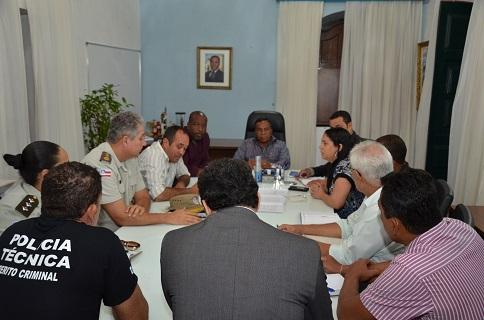 Prefeitura de São Francisco do Conde convocou uma reunião para cobrar das autoridades policiais ações efetivas na área de Segurança Pública  2