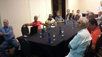 Representantes de São Francisco do Conde reuniram-se com os presidentes das Federações de Automobilismo dos estados brasileiros