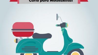 Prefeitura abre inscrições de curso para mototaxistas em parceria com o DETRAN