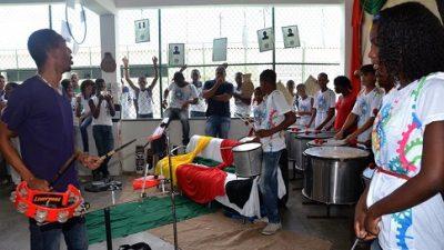 Na última quarta-feira, dia 18, aconteceu mais uma edição do Projeto No Recreio no Instituto Municipal Luiz Viana Neto