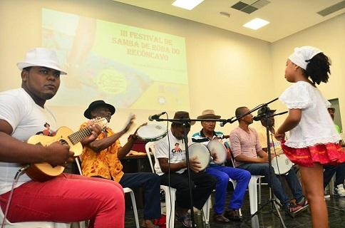 São Francisco do Conde receberá 4ª etapa do Projeto Sambas de Roda Mirins neste domingo, dia 08 de outubro