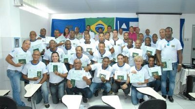 SEAP e Marinha certificaram 30 pescadores no curso de Aquaviários