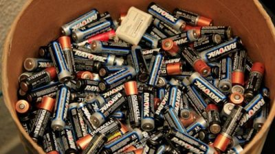 Prefeituradestina 8.200 kg de pilhas e baterias para descarte adequado