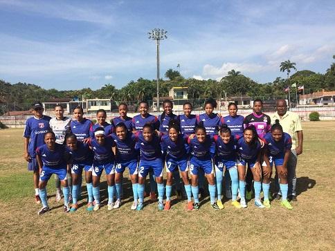 futebol feminino campenato baiano 2015