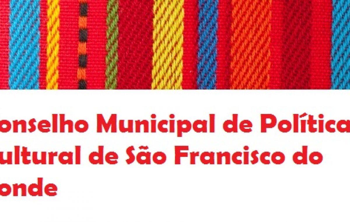 SECULT – Nova alteração no Calendário das Eleições do Conselho Municipal de Política Cultural, biênio 2019/2021