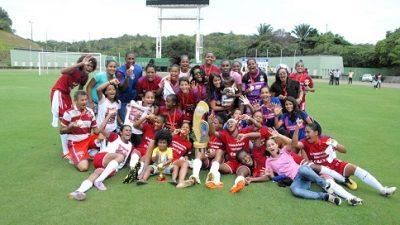 Confira as vitórias e títulos do futebol feminino de São Francisco do Conde em 2016