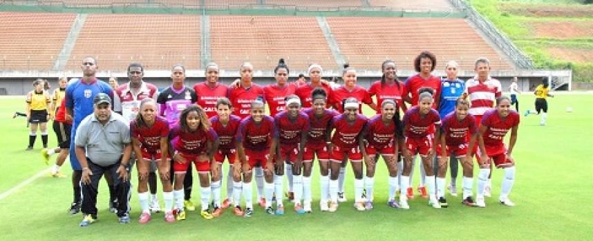 Equipe feminina venceu por 2×0 o time de Viana pelo Campeonato Brasileiro de Futebol 2016