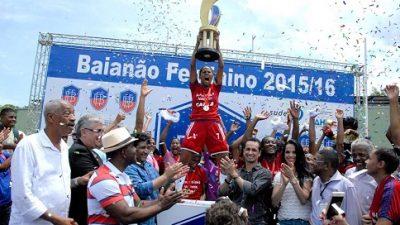Nosso time é campeão! São Francisco do Conde Esporte Clube levanta a taça pela 15ª vez consecutiva