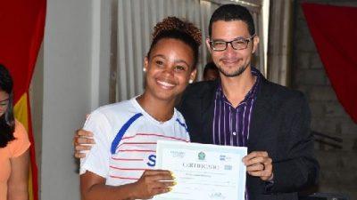 SEDES e SENAI certificaram 127 alunos de cursos profissionalizantes em São Francisco do Conde