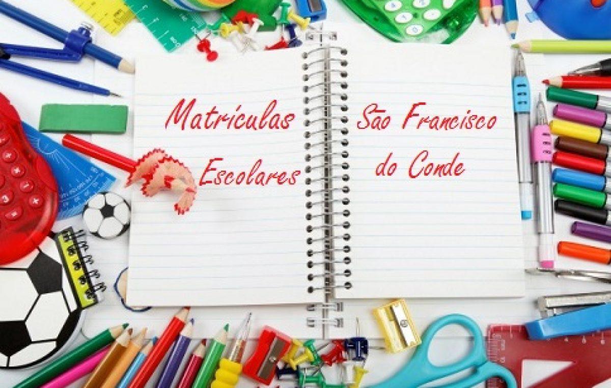 Confirmação de matrícula na Rede Municipal de Ensino de São Francisco do Conde começa nesta segunda-feira (14)