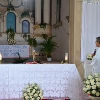 Missa em homenagem à padroeira Nossa Senhora do Monte foi realizada nesta terça (02)
