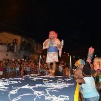 Bagunça da Cubamba – Homens e crianças travestidos animaram a noite de quinta-feira, no Carnaval Cultural de São Francisco do Conde