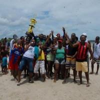Campeonato de Futebol de Praia do Caípe termina com vitória do Passé