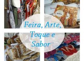 """""""Feira, Arte, Toque e Sabor"""" fica na orla marítima até a quinta-feira (04) comercializando produtos"""